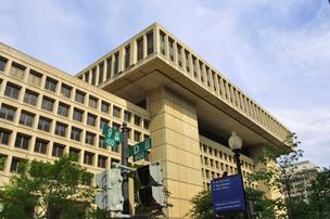 FBI headquarters building in Washington