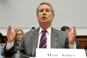 Rep. Walter Jones, R-N.C., is demanding a cap on congressional travel overseas.