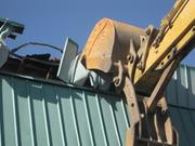 More demolition work.