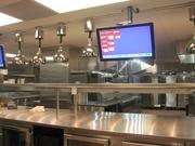 The main kitchen is considerably larger than the biggest Clyde's one at Gallery Place.
