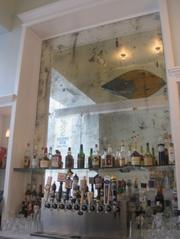 Bar close-up.