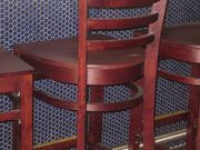 Bar details at Hank's Oyster Bar.
