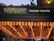 The Helen Hayes Awards marquee.