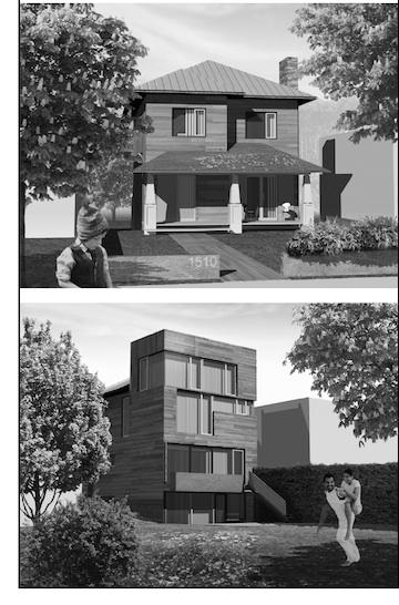 Rendering of Design Army owners' finished Brookland home