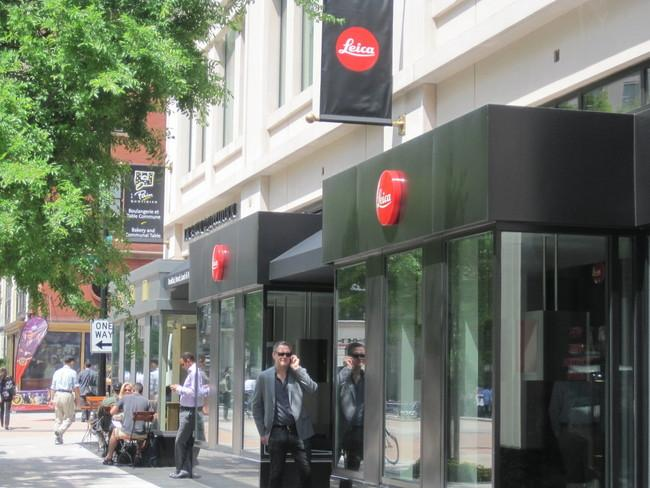Leica's D.C. store will have its grand opening Thursday.