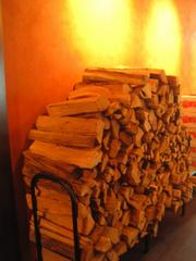 Wood for the stove.