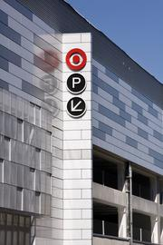 Parking for the new Target and the Mosaic development in general.