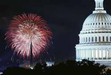 D.C. will get a tourism boost around July 4 from the NEA convention.