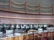 The bar in progress at Tel'veh Cafe & Wine Bar.