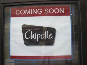 Chipotle: Coming soon to Columbia Heights.
