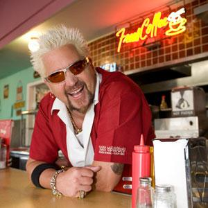 The Plymouth producer of Diners, Drive-Ins and Dives says in a new federal lawsuit that the Food Network hasn't been able to get host Guy Fieri back.
