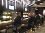 """The """"Mixx"""" lobby bar."""