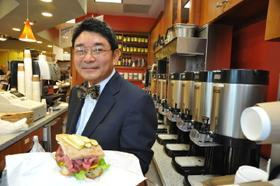 Phillilp Yun sees a possible government shutdown as a concern for his business.