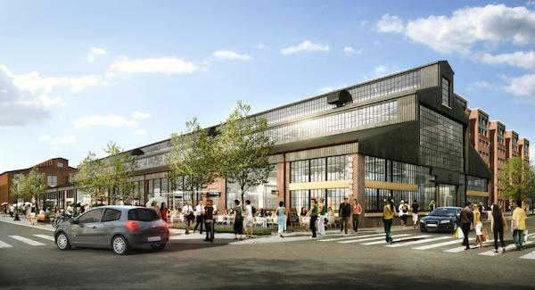 Wells Cleaners is slated to open later this week as the first tenant at the Boilermaker Shops, the latest addition to Forest City Washington's The Yards project in Southeast D.C.