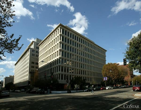 First Potomac Realty Trust sold its stake in 1200 17th St. NW for $43.7  million, the company announced Monday.