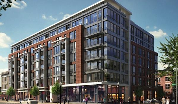 The JBG Cos. has sold its The District apartments to JPMorgan Chase & Co. for $76 million.