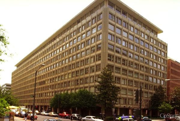 The General Services Administration has renewed its lease with Blake Real Estate for nearly 300,000 square feet at 1800 G St. NW for four federal agencies.