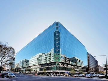 The 13-story 1801 K St. NW, or any other office tower in Washington, will be restricted to its existing height under a plan released Wednesday by the National Capital Planning Commission staff. The NCPC recommended only very minor tweaks to D.C.'s Height Act.