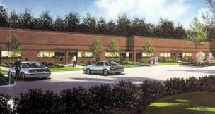 St. John Properties Inc. has broken ground on two buildings at its Ashburn Technology Center.