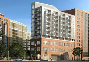 Greenbelt-based Bozzuto Group will start construction this spring on a  condo development at 460 New York Ave. NW.