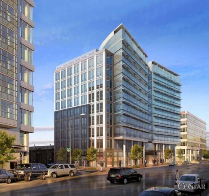 An affiliate of Monument Realty is seeking buyers for 50 M St. SE, a development site near the Navy Yard Metro that had been slated for a 135,000-square-foot office building.