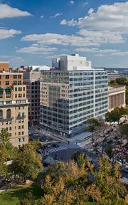 Forrester Construction Co. has completed a $30 million renovation of 815 Connecticut Ave. NW.