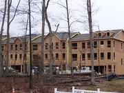 New homes are going up in Loudoun County's Brambleton community. The project, owned by Soave Enterprises of Detroit, averages more than one home sale per day.