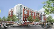 The second residential building will face Bryant Street.