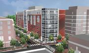 Howard University and Campus Apartments plan to develop two buildings, including this one facing College Street.