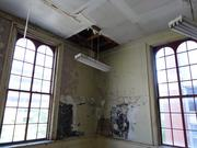 Holes in the ceiling, holes in the floor. The rehabilitation of the historic, 51,000-square-foot Franklin School at 13th and K streets NW will be a major undertaking.
