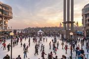 MRP Realty added an ice rink to Washington Harbour to help attract tourists and consumers to the site during the winter months.