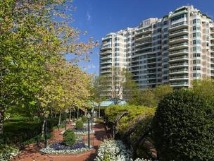 A penthouse unit at the Parc Somerset in Chevy Chase has sold for $7.9 million, believed to be a new record for highest sale price for a condo in the Washington region.