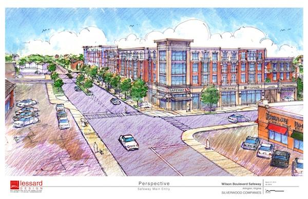 Safeway has selected the Silverwood Cos. to redevelop its Wilson Boulevard store in Arlington's Bluemont neighborhood.