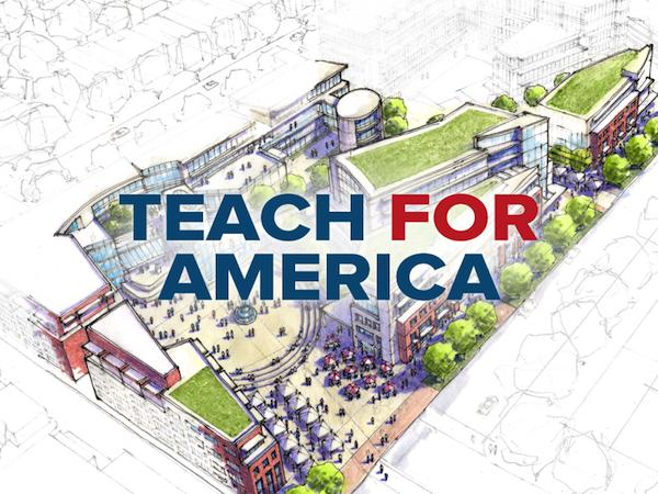 Teach For America has selected Fundrise LLC to help it find potential development sites in the District.