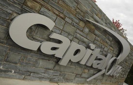 McLean-based Capital One Bank has been fined $12 million.