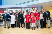 "Marla Lerner Tanenbaum, one of the principal owners of the playoff-bound Washington Nationals and chair of the Dream Foundation, joined fellow owners and team executives Sept. 7 for the ""wall-cracking"" ceremony of the new Washington National Diabetes Care Complex at Children's National Medical Center."