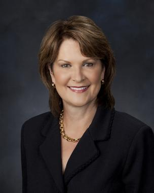 Marillyn Hewson will take over as CEO of Lockheed Martin on Jan. 1.
