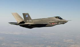 The F-35 Joint Strike Fighter, which is built by Lockheed Martin Corp.