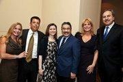 CNN's Wolf Blitzer hosted the Anti-Defamation League's 2012  Achievement Award Dinner at the Mandarin Oriental Hotel in the District  on Dec. 1. From left, Rebecca Kay, Richard Kay, Joan Hisaoka, Robert Hisaoka, Nancy Grunfeld and Ernie Grunfeld.