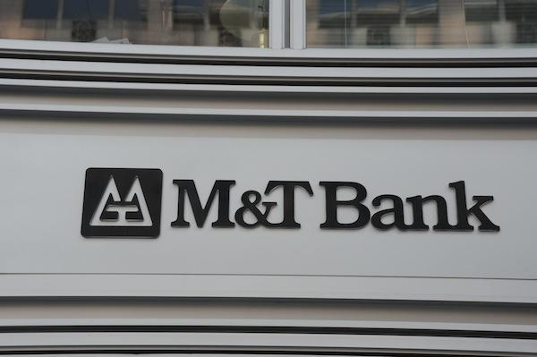 M&T Bank is the second-largest bank in the Baltimore area.