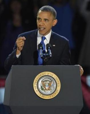 President Barack Obama defeated Republican challenger Mitt Romney by winning nearly every swing state.