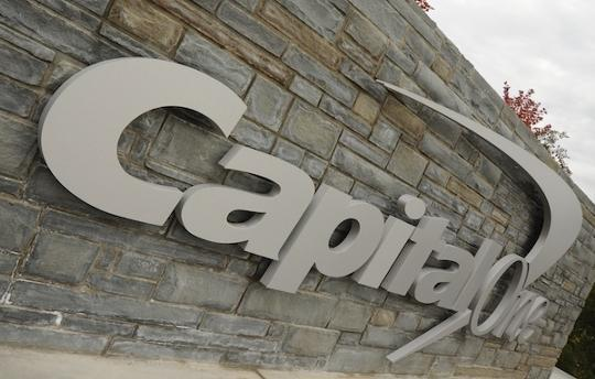Capital One Financial Corp. plans to cut 80 jobs in a Bethesda office, according to a filing with Maryland.