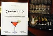 Comcast sponsored a signature drink, the Comcast-a-ritas, at the Washington Business Journal's Women Who Mean Business event.