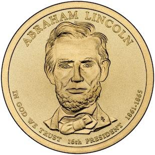 The new Abe Lincoln $1 coin.