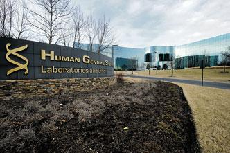 Human Genome Sciences Inc.,  which rejected a $13-per-share takeover offer from GlaxoSmithKline as too low, has accepted a $14.25 per share offer from its lupus drug development partner. The handshake brings to a a close a months-long, sometimes tense struggle for control of the company.