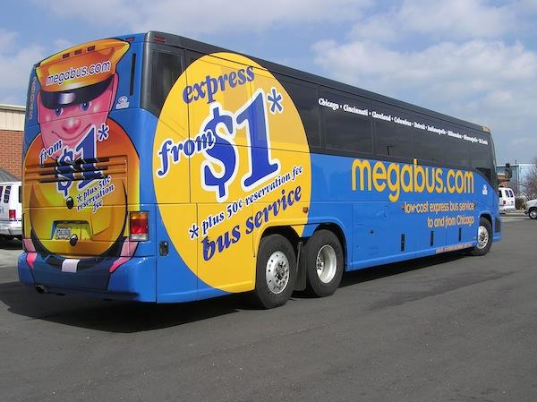 Discount bus service Megabus.com will roll into Atlanta for the first time on Oct. 25.