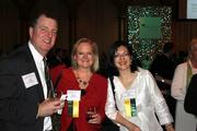 Hank Dearden of The Capital Cabal, Kristina Bouweiri of Reston Limousine and Joanna Pineda of Matrix Group.