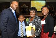 Honoree Belinda Coleman of Coleman Group Inc. posed with her family.