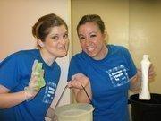 WETA employees volunteer at A-SPAN.