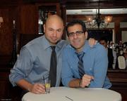 NAAP members Alex Cherif, left, and Ayad Mirjan.